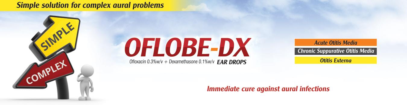 Oflobe-DX Ear Drop