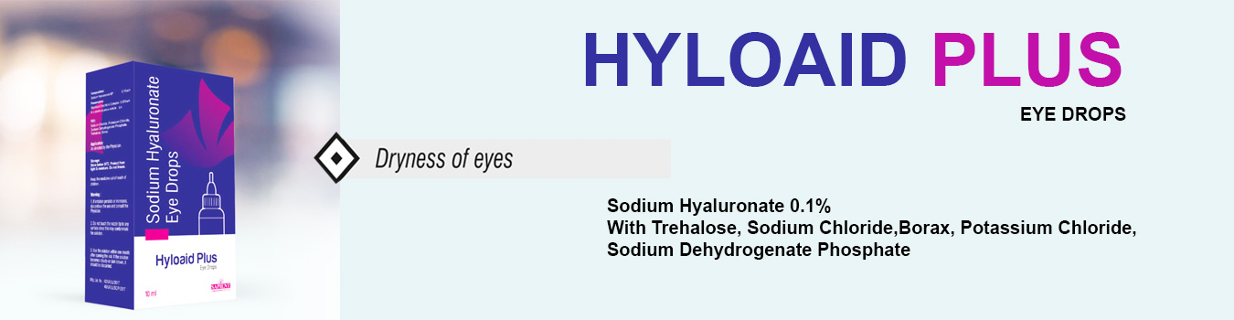 Hyloaid Plus Eye Drops